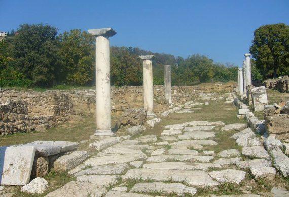 Αρχαιολογικός χώρος Έδεσσας