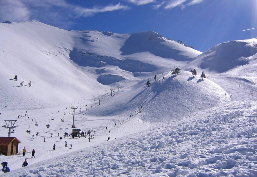 Σκι στα 3-5 Πηγάδια