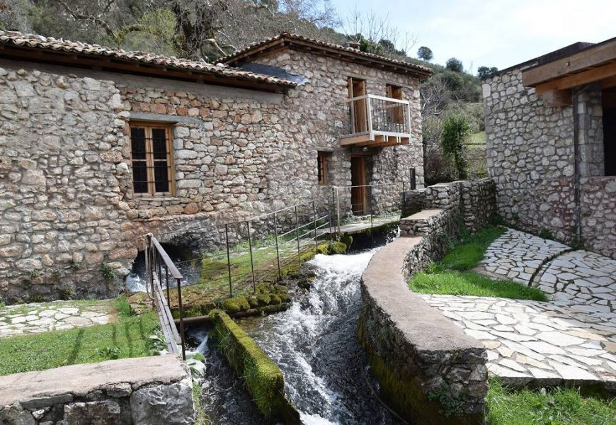 Δημητσάνα, Υπαίθριο Μουσείο Υδροκίνησης